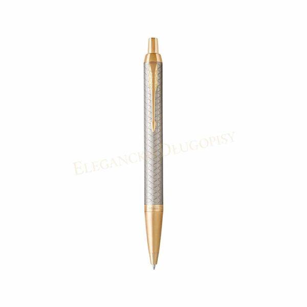 Długopis Parker IM Premium Cieple Srebro GT - 1931687 - 1