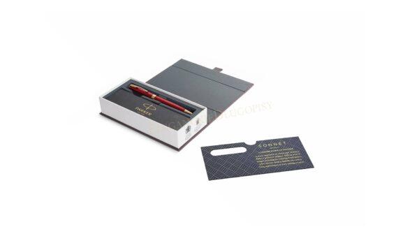 Długopis Parker Sonnet Czerwony GT - 1931476 - 2
