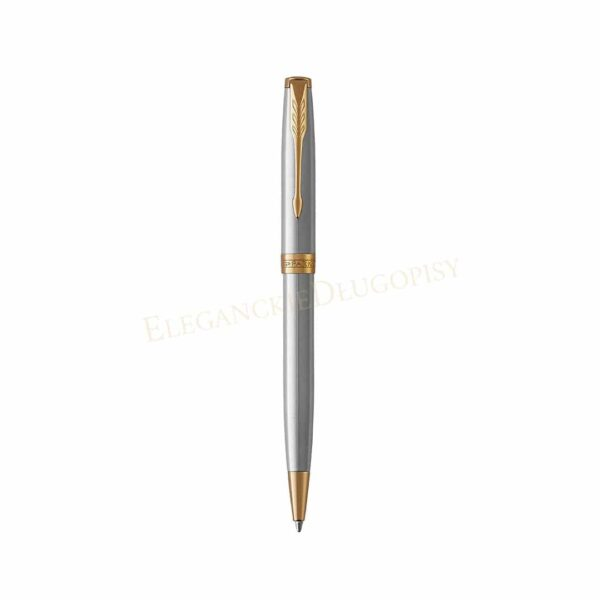 Długopis Parker Sonnet Stalowy GT - 1931507 - 1