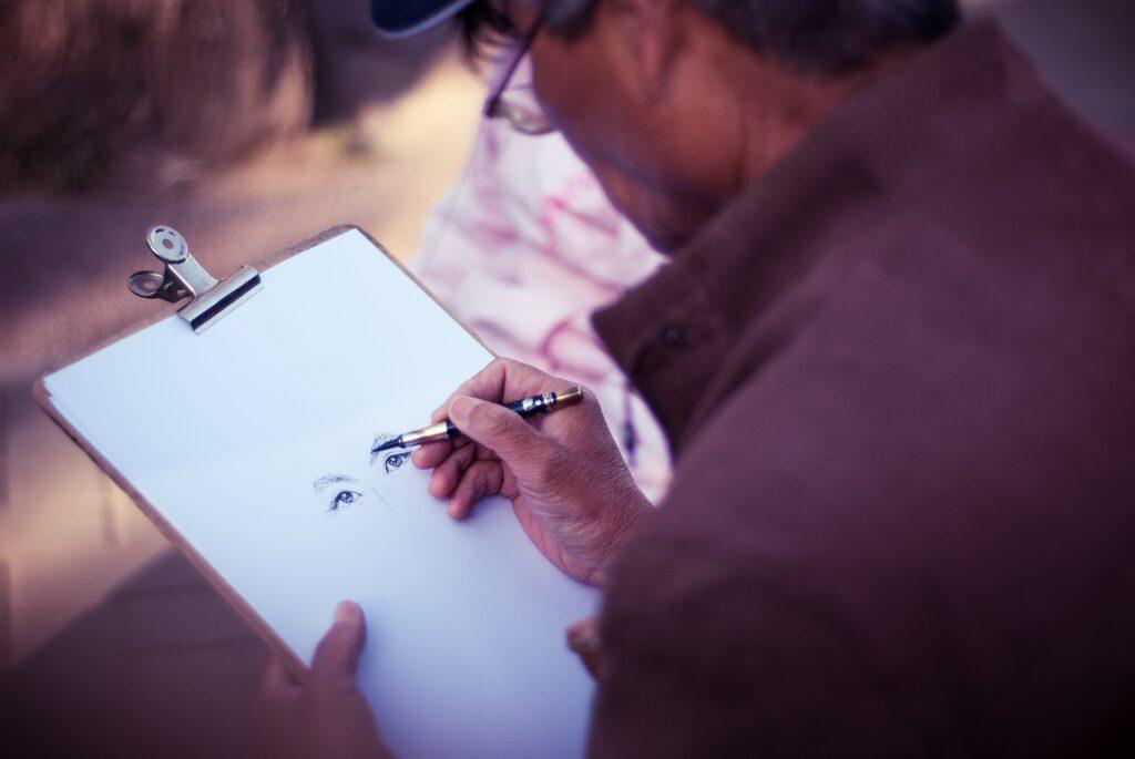 Długopis Pióro Wieczne Prace Artystyczne