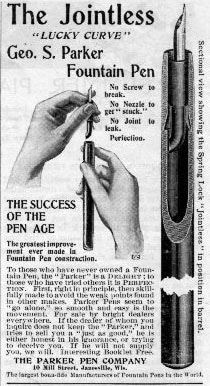 Parker Jointless 1898